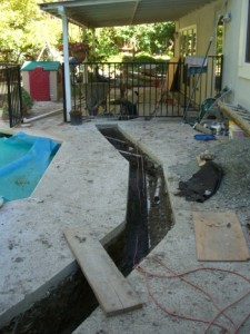 East Bay Drainage Installation